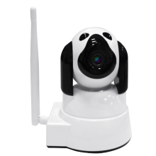 Video di telecamere di sicurezza Wifi 12V Giallo Bianco Pet Cane Da Guardia Hd App Smartphone Pan <span class=keywords><strong>Tilt</strong></span> Baby Monitor