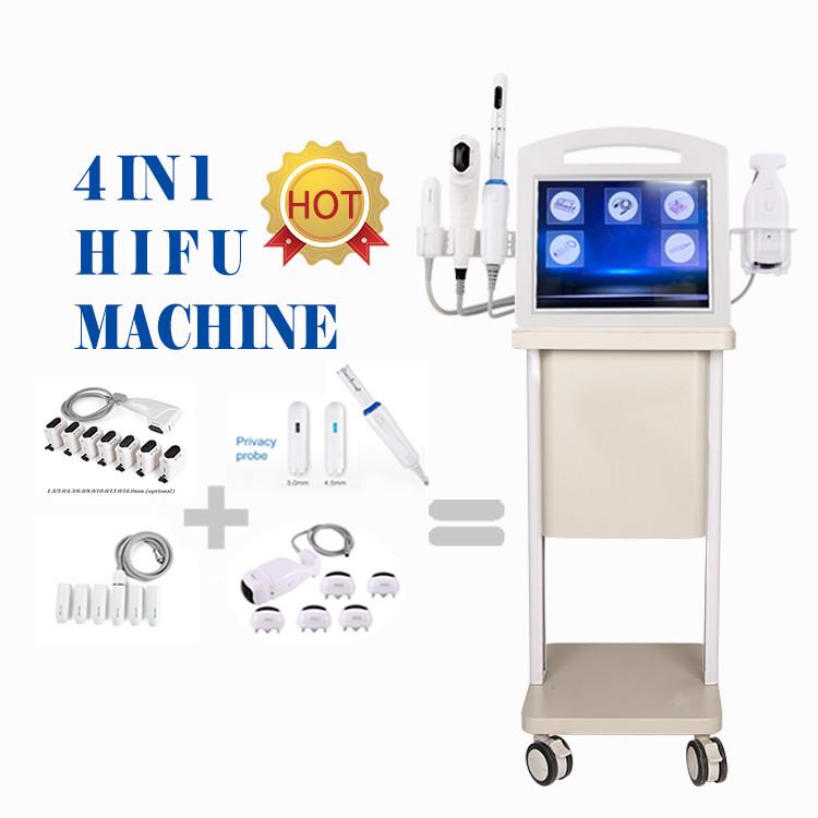 2020 newest 4 in 1 4D hifu Vmax hifu vaginal tightening eye/neck/face lifting body slimming machine
