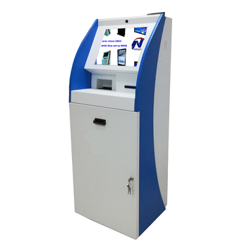 China Netoptouch touch hotel check in self service terminal payment kiosk