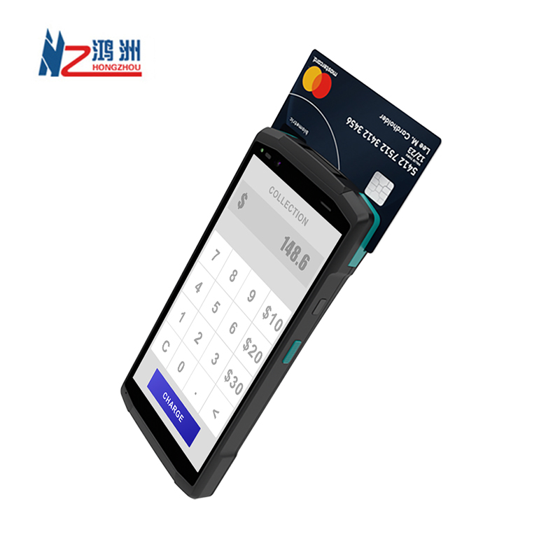 5.7 inch Capacitive Screen POS Machine with NFC Reader