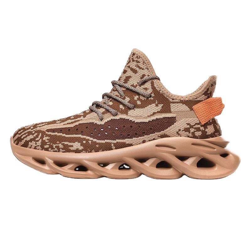 Latest designer men's fashion sneakers platform sports shoes casual running shoes manufacturer