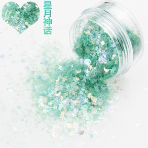 cosmetic grade glitter chunky glitter opal glitter for ornament,nail arts and cosmetic Christmas