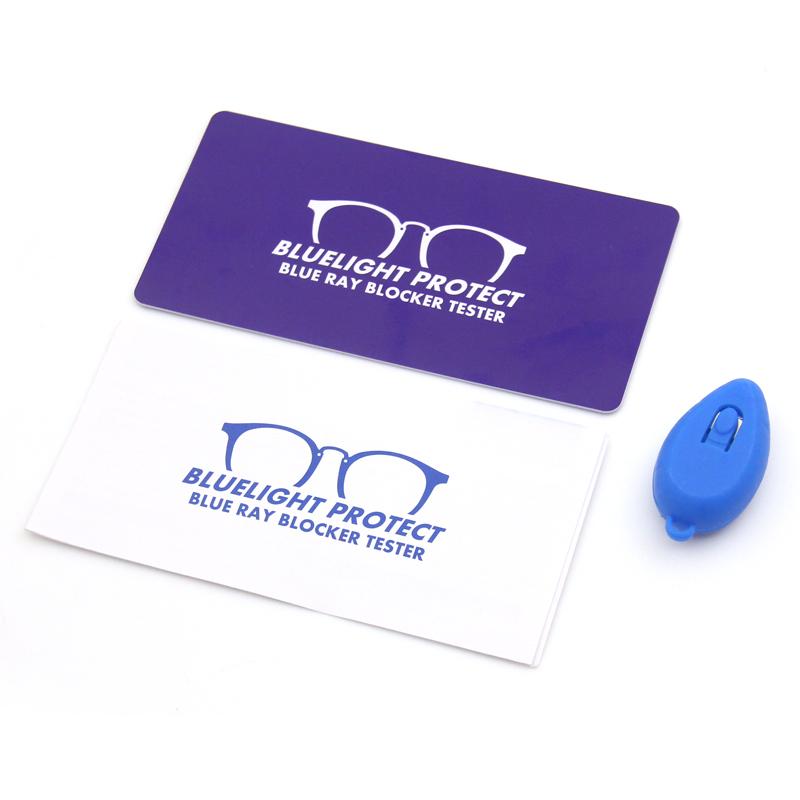Оптовая продажа повторного использования с защитой от УФ-излучения для защиты с защитой от синего излучения блокатор тестер тестирования карты Лазерная