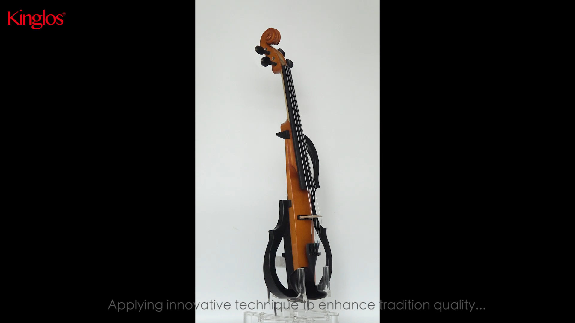 Kinglos The Professional High Quality Prices Colored Electric Violin For Sale