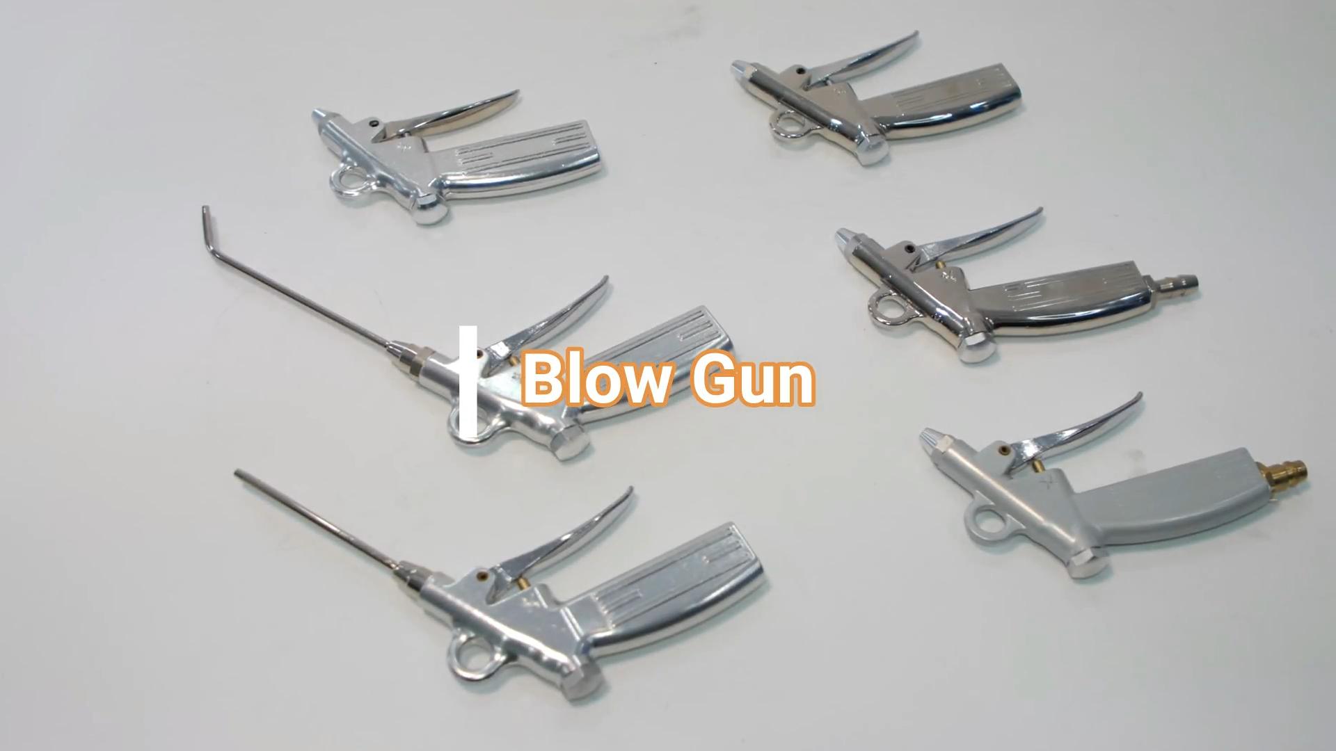 อลูมิเนียมAirสเปรย์ฝุ่นBlow Gunสำหรับทำความสะอาดโรงงาน