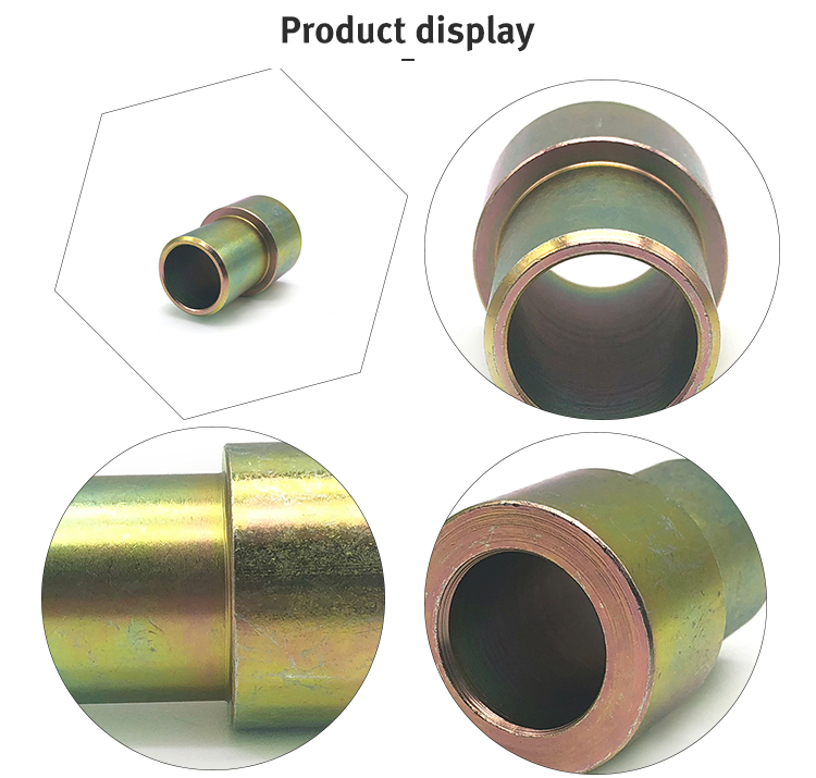 Custom CNC Lathe Machining Shoulder Bronze Bushings for automobile