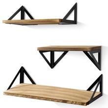 Garneck estantes flotantes de Corona de Madera montados en la Pared estantes de Pared estanter/ías flotantes para ni/ños Decoraciones de Pared de Dormitorio de guarder/ía