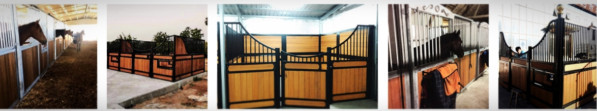 Used Portable Prefab Horse Barn Stable Stall Front Panel Door Size