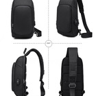 Shoulder Sling Shoulder Bag BSCI Factory Wholesale Customized Sling Bag Crossbody Backpack Shoulder Bag Travel With USB Charging Port