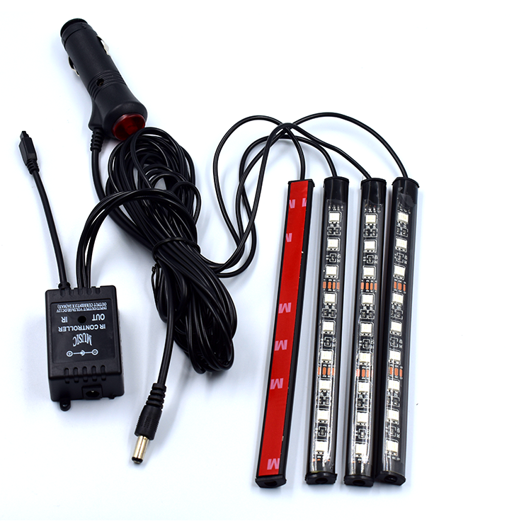 Custom Flex LED Strip Circuit Boards Black Solder Flexible PCB Led Car RGB Light