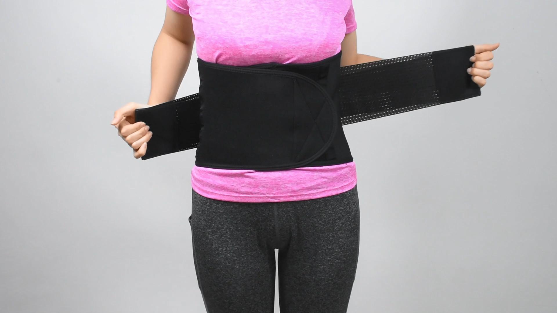 คุณภาพสูงBellyลดน้ำหนักBody Shaper Girdle Tummyเหงื่อเข็มขัดรัดตัวNeopreneเอวTrimmer