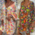 2020 Summer New Women V-neck Printed Clothes Midi Skirt Plus Size Dress