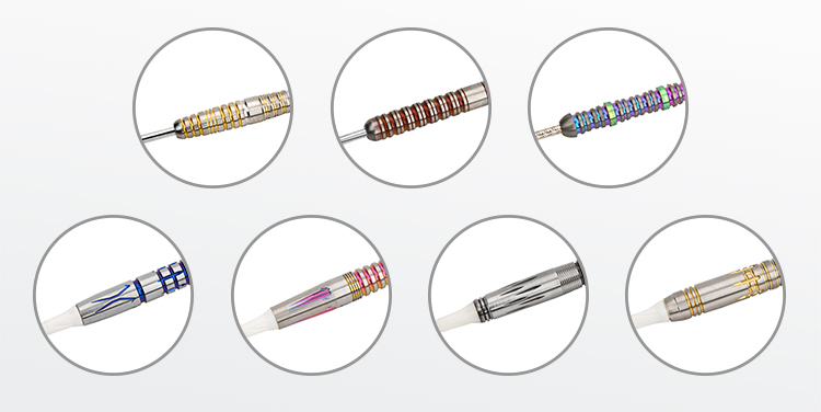 22-26g Steel-Tip Tungsten Darts Colored Darts