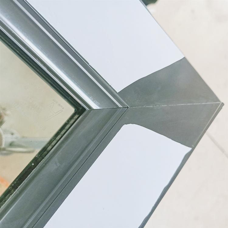 AS2047 Standard Outward Opening casement windows double glazed aluminium Frame hinged window screen