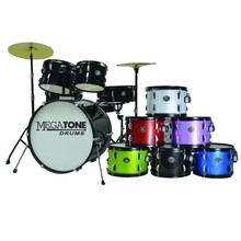 5PC MEGATONE BASS DRUMS SET GROOTHANDEL CHINA FABRIEK HOT-SELLING GOEDE KWALITEIT