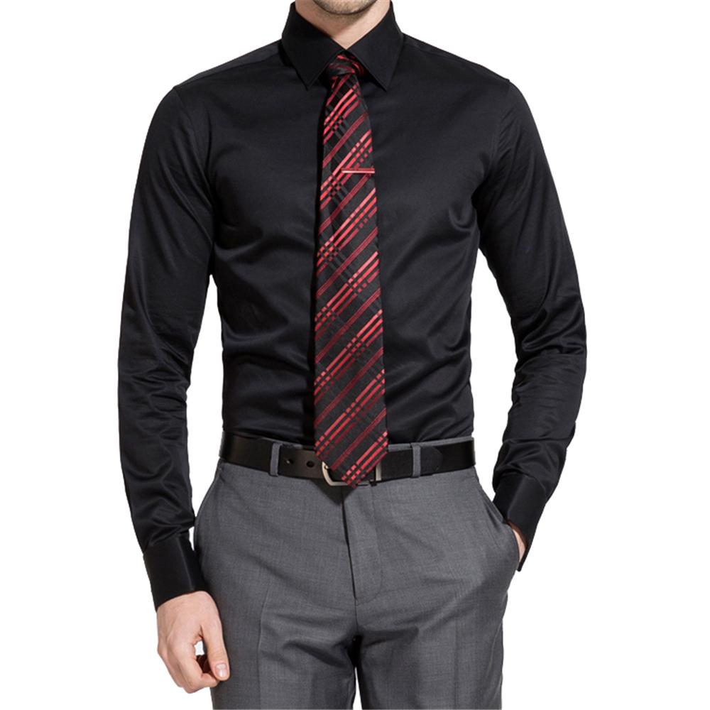 Wholesale cotton mens tuxedo shirt