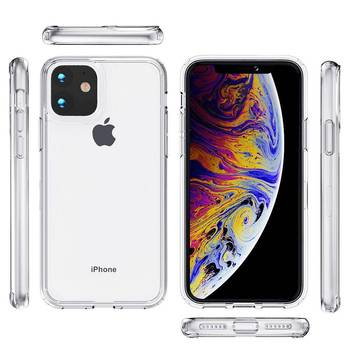 For iphone 12 case,High Quality Transparent Clear Acrylic TPU Phone Case Cover for iphone 11 pro max XR XS MAX 6 7 8 plus