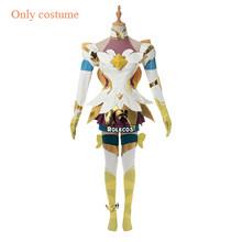 ROLECOS Игра LOL Neeko престиж Косплей Костюм LOL звезда Хранитель Neeko косплей костюм хвост курьезный Хамелеон женское платье(Китай)