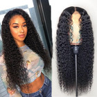 Super quality wholesale price unprocessed 100% cuticle aligned virgin human natural color hair full lace wig