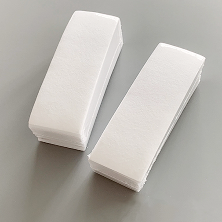 Free sample non-woven fabric colored hair removal wax paper roll disposable wax strips for beauty