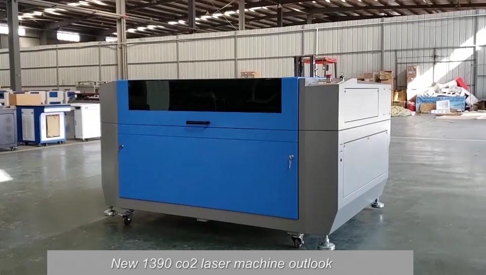Alta Sicurezza 1390 100 watt CO2 Incisione Laser Macchina di Taglio Macchina Alla Ricerca di Distributori
