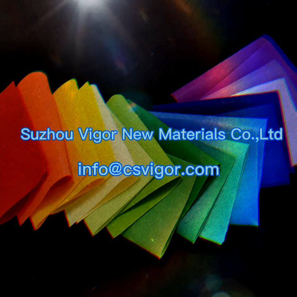 Polyester felt for fire resistant polyester felt