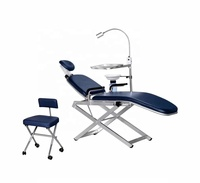 High class TPC portable dental chair units with LED oral light