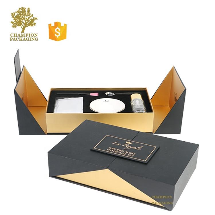 लक्जरी कांच की बोतल कॉस्मेटिक पैकेजिंग बॉक्स/त्वचा की देखभाल कागज बॉक्स पैकेजिंग/कॉस्मेटिक बोतलें पैकेजिंग बॉक्स
