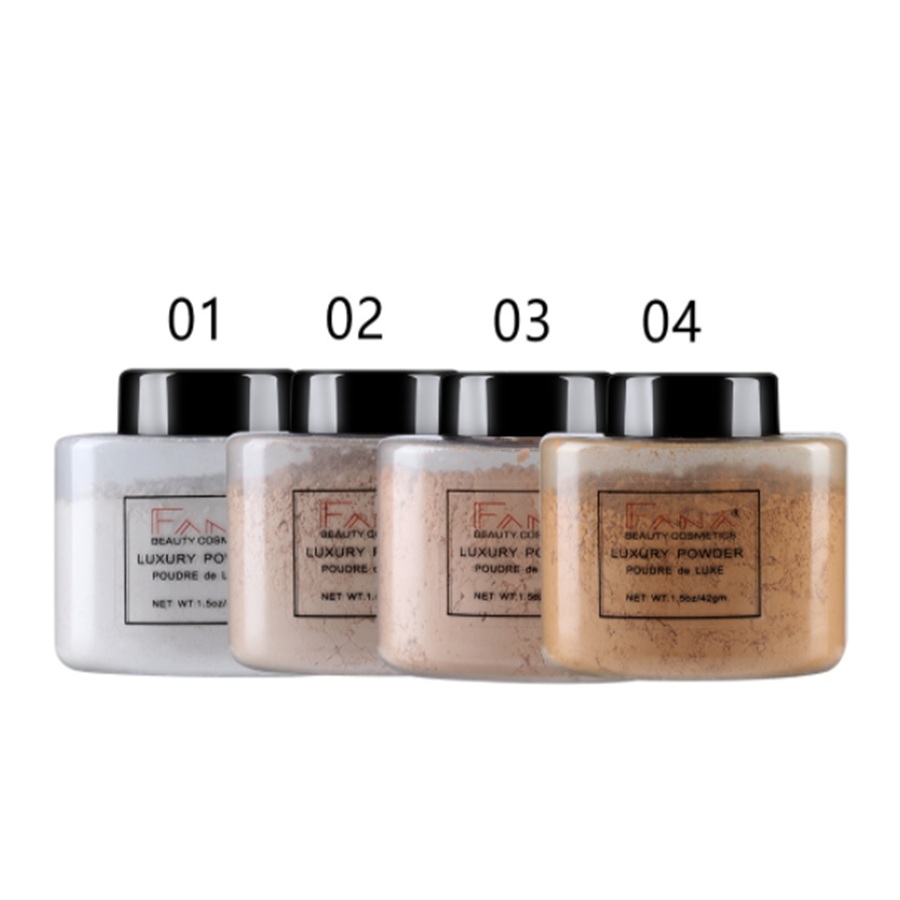 Banana  Powder Long-lasting Oil Control Face Brighten Smooth Loose Powder Makeup Concealer Setting Powder