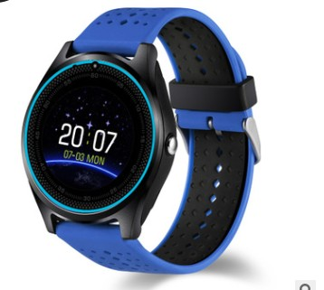 2019 Support SIM Card 2g Sport Pedometer MP3 Music Clock Sleep Tracker Smartwatch V9 Smart watch
