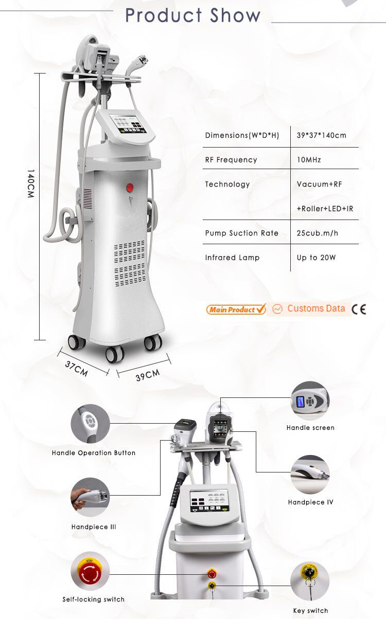 Roller massage slimming machine body contour vaccum massage vacuum therapy body sculpting equipment