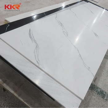 Hot Ing Artificial Marble Like Acrylic Solid Surface Resin Stone Sheets Sheet For Shower Walls Decorative