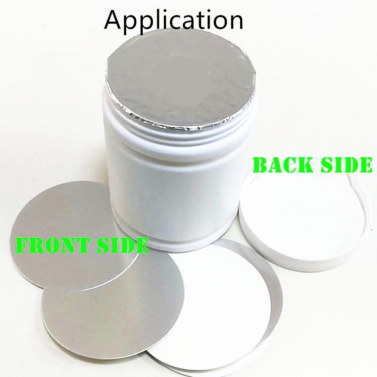 Sensível à pressão forro selo de alumínio selada para sua proteção de venda quente
