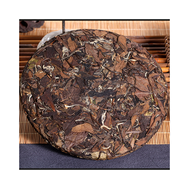 Shoumei Cake White Tea with Anti-aging Anti-oxidant Benefits Beauty Health - 4uTea | 4uTea.com