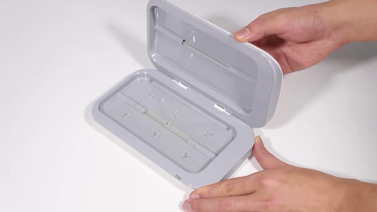 Mobile Phone UV Light Sterilizer Cellphone Jewelry Disinfector Smartphone Sanitizer