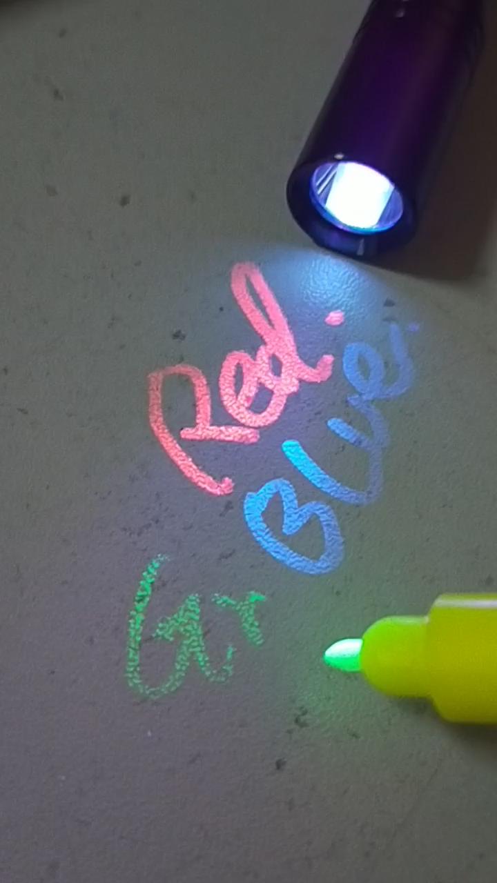 레인보우 CH-L015 LED 자외선 UV penlight 토치 최고의 전갈 블랙 라이트 토치 UV Led 손전등 토치