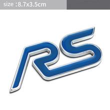3D металлические наклейки для автомобиля, автомобильные аксессуары для Ford Fusion focus 2 ST RS S(Китай)
