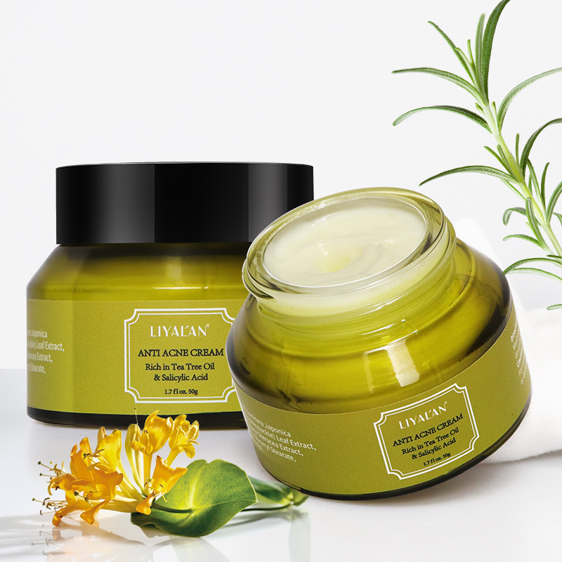 Best Korean green tea Formula 2% Salicylic Acid face whitening spot Anti Acne <strong>Cream</strong>