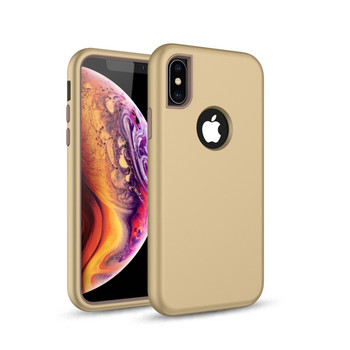 Smooth Back Sturdy Defender Durable Military Proof Heavy Duty Hard Outer Shell Inner for iphone Xs max Soft Rubber Armor Case