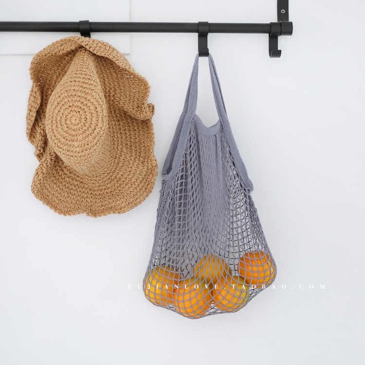 New Fashion Reusable Produce Eco-Friendly Net Shopping Bag Mesh Bag
