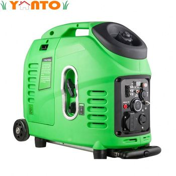 GEN-3800I Portable Mini Petrol Generators 3100W Gas Generators Inverter with Electric Key Start for Camping and Home Use