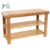 Living Room Countertop 3-Tiers 100% Natural Storage Shelf, Bamboo Shoe Bench, Boot Rack