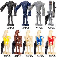 WM6095 Звездные космические войны Клон силы 99 вредитель Crosshair Hunter Tech BAD BATCH Rex фигурки аксессуары строительные блоки игрушка(Китай)