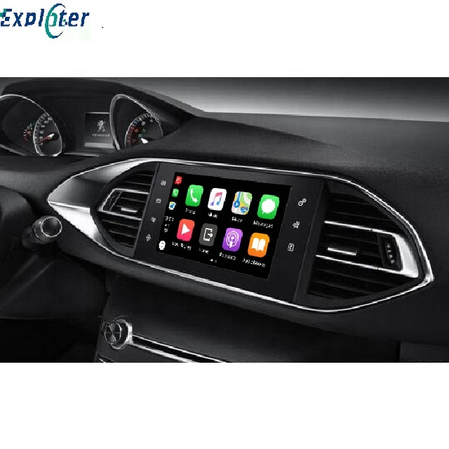 CarPlay Android otomatik arayüzü Peugeot 2008 3008 5008 için Video girişi ile