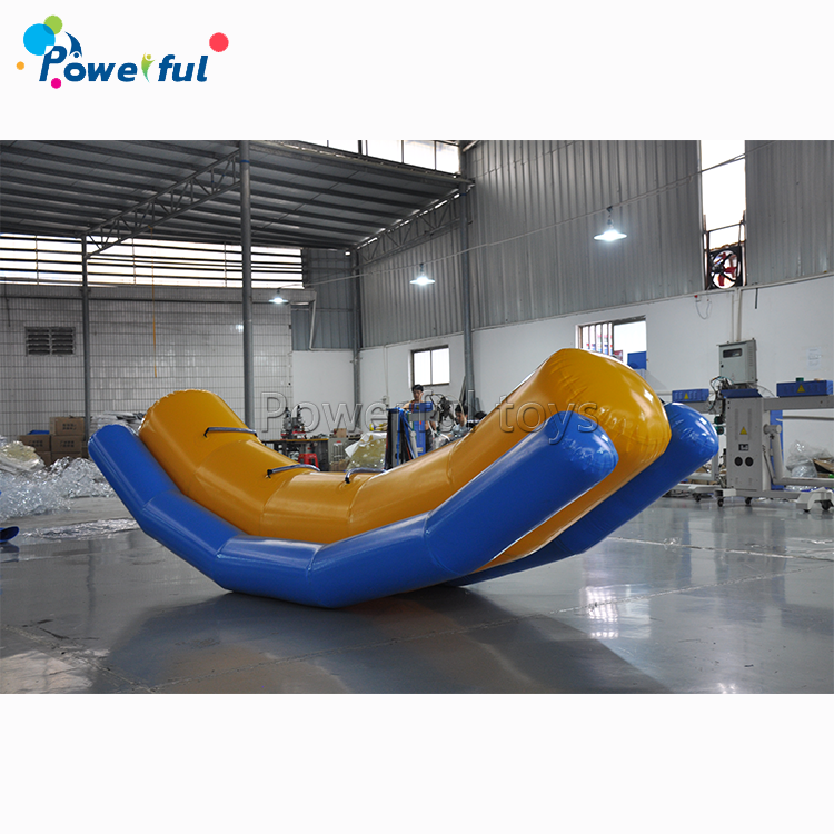 water sport game kids and adult toy inflatable floating seesaw