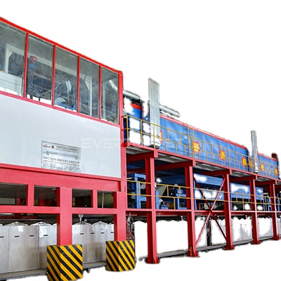 New Condition and aluminum color Coating metal coating machine production line