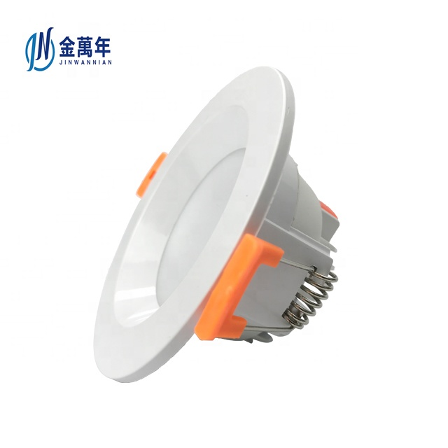 Commercial lighting dimmable saa super driver luces rgb recessed led downlights