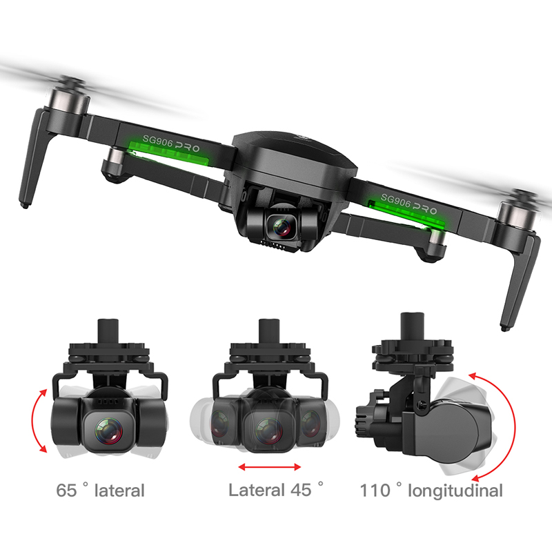 SG906 Pro2 Professional GPS Drone With 3-Axis Gimba 4K 5G WiFi Camera Auto return Brushless Quadcopter