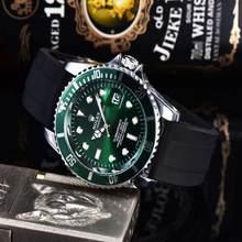 Топ люксовый бренд WINNER черные часы Мужские Женские повседневные мужские часы деловые спортивные военные часы из нержавеющей стали 8952(China)