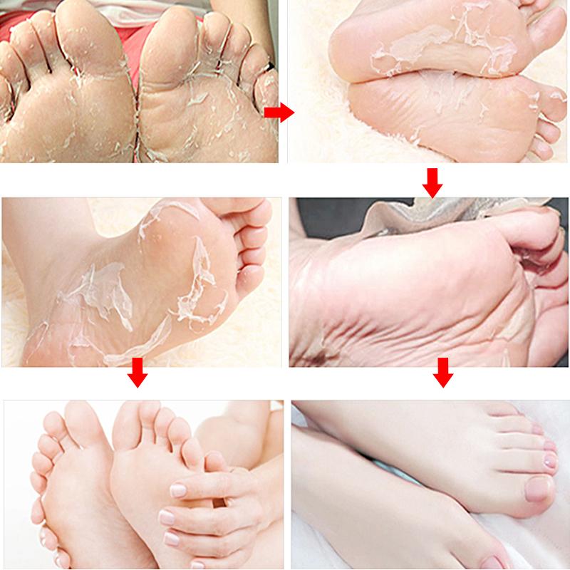 Wholesale Organic Lavender Dead Foot Mask Skin Remover Peel off Exfoliating